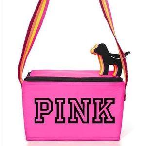 Victoria's Secret PINK cooler bag and keychain set